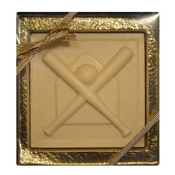 Chocolate Baseball Plaque