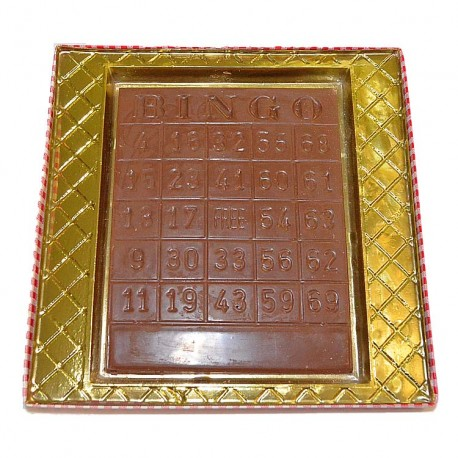 Bingo Card Plaque
