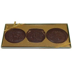 Chocolate Sportsman Hunting Buckles