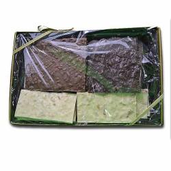 Pound gift box of Milk Chocolate Pretzel Bark