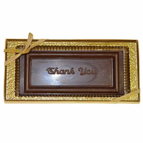 """Thank You"" Chocolate Greeting Card"