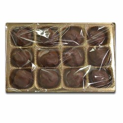 12 Piece  Milk Chocolate Caramel Pecan Patties