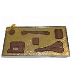 Chocolate Sewing Set