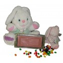 Gift boxed Happy Easter solid chocolate 'greeting card'