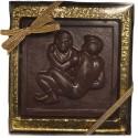 Chocolate Wrestling Plaque