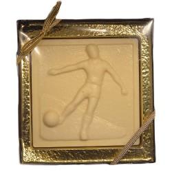 Chocolate Soccer Plaque